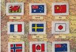 схемы для вышивания флагов