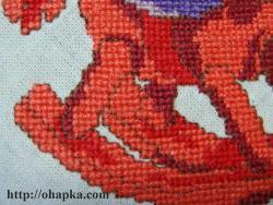 Фрагмент ног коня-качалки