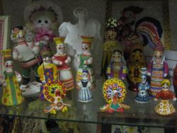 Выставка декоративно-прикладного творчества | Глиняные игрушки