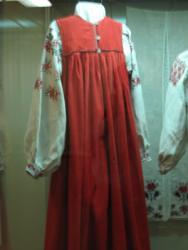 Костюм крестьянки Курской губернии (музей село Прохоровка)