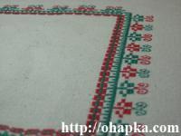 Красно-зелёная салфетка (перспектива)
