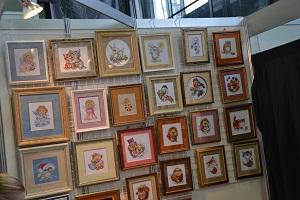 маленькие наборы для вышивания Фото Охапки с Формулы рукоделия
