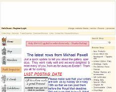 Сайт Майкла Паула